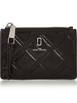 marc-jacobs-softshot-quilted-top-zip-multi-purse-black