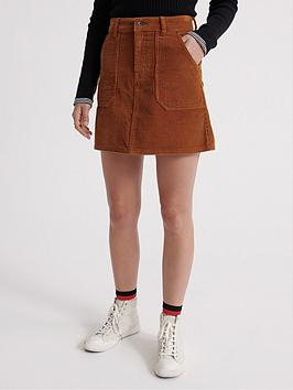 superdry-cord-a-line-skirt