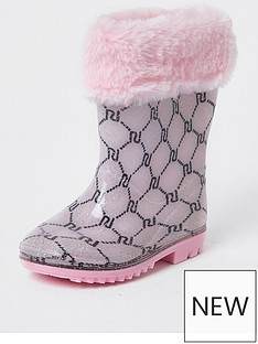 river-island-mini-girls-welly--nbsppink