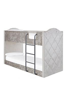 mandarin-fabricnbspbunk-bed-with-mattress-options-buy-and-savenbsp--grey-silver