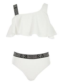 river-island-girls-textured-one-shoulder-bikini-set-white