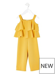 river-island-mini-mini-girls-frill-jumpsuit-yellow