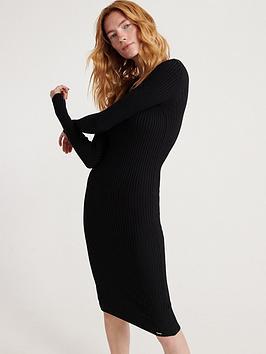 superdry-superdryannie-rib-bodycon-dress