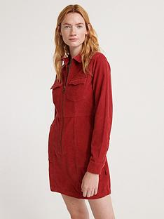 superdry-hadley-cord-shirt-dress-rednbsp