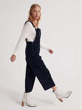 superdry-phoebe-cord-dungaree-navy