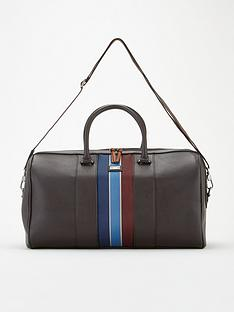 ted-baker-edmonds-webbing-holdall-bag-brown