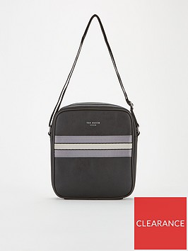 ted-baker-oppium-webbing-flight-bag-black