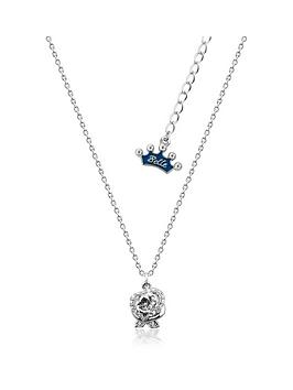 disney-disney-beauty-the-beast-crystal-rose-necklace