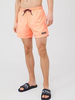 hugo-haiti-small-logo-swim-shorts-peach