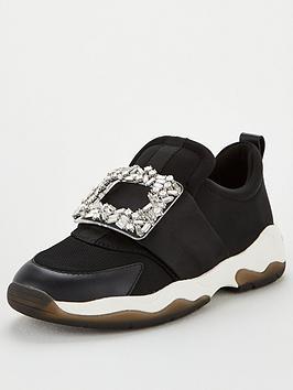 kurt-geiger-london-lucia-trainers-black
