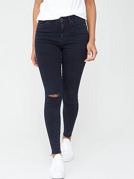 v-by-very-ella-single-knee-rip-jean-inky