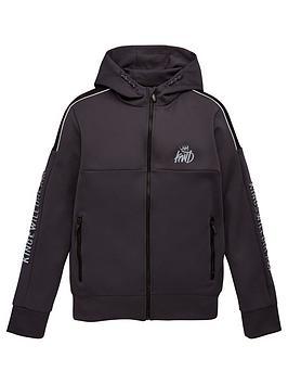 kings-will-dream-boys-nisha-zip-thru-hoodie-charcoal