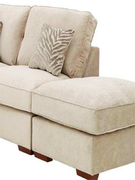 kingston-fabricnbspright-handnbspcorner-chaise-sofa-bednbspwith-footstoolnbsp