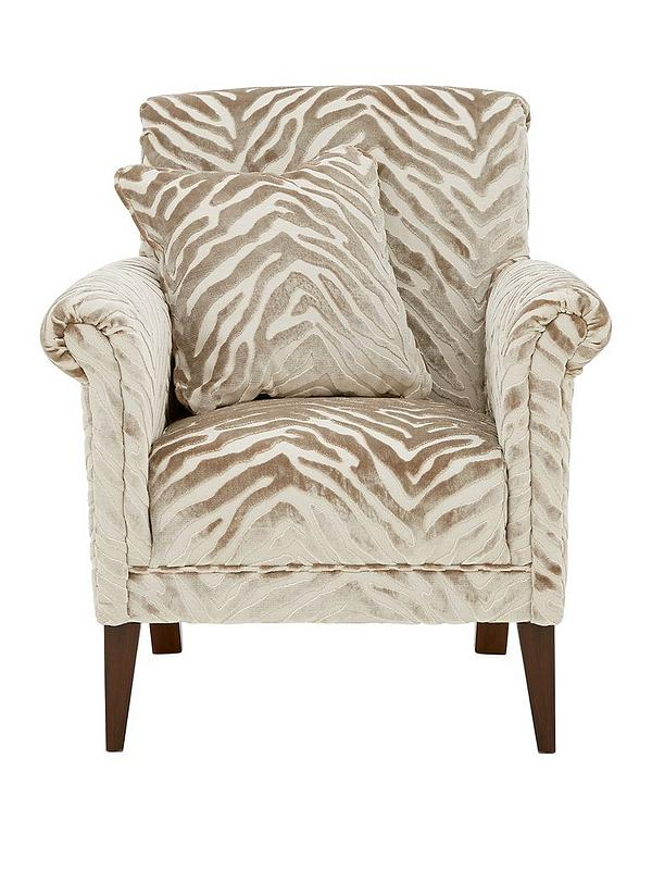 Kingston Fabric Accent Chair Very Co Uk