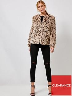 dorothy-perkins-dorothy-perkins-animal-faux-fur-jacket-multi