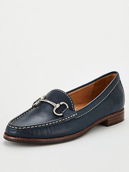 carvela-click-loafers-navy