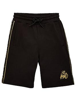 kings-will-dream-boys-ford-jog-shorts-black