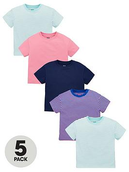 v-by-very-girls-5-pack-t-shirts-multi