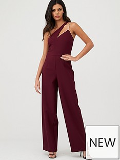 river-island-river-island-one-shoulder-wide-leg-jumpsuit--dark-red
