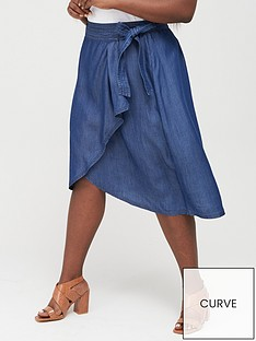 v-by-very-curve-denimnbspruffle-skirt-dark-wash