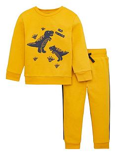 v-by-very-boys-2-piece-dino-side-stripe-sweatshirt-and-joggers-set-brown