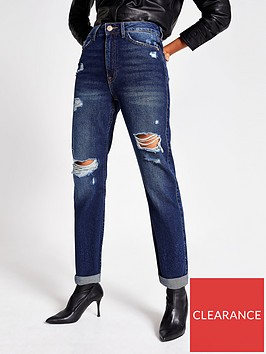 river-island-river-island-ripped-mom-denim-jeans--dark-authentic