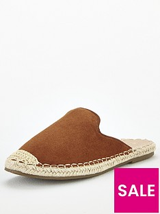 v-by-very-maeve-backless-flat-espadrille-tan