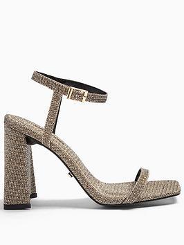topshop-rocco-strappy-heels-gold