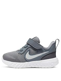 nike-revolution-5-infant-trainers-grey