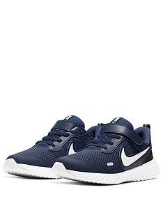 nike-revolution-5-youngernbspchildrens-trainers-navywhite