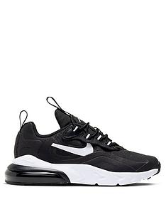 nike-air-max-270-reactnbspchildrens-trainers-blackwhite