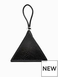 topshop-viva-triangle-grab-bag-black