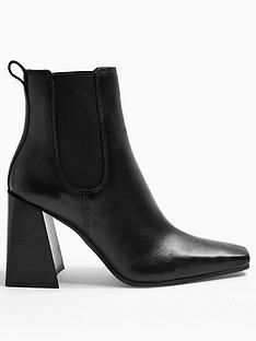 topshop-harbournbspchelsea-boot-black