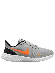 nike-revolution-5-junior-trainers-grey