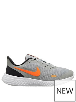 nike-revolution-5-junior-trainers-grey