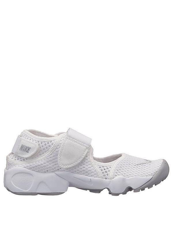 amenaza realeza Chelín  Nike Rift Children's Trainers - White/Grey | very.co.uk