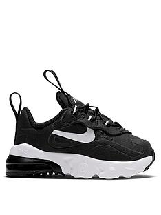 nike-air-max-270-react-infant-trainers-blackwhite