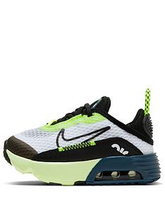 nike-air-max-2090-infant-trainers-whiteblackblue