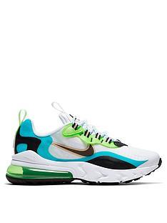 nike-air-max-older-kidsnbsp270-react-series-trainers-whiteaqua