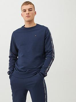 tommy-hilfiger-authentic-side-tape-lounge-top-navy