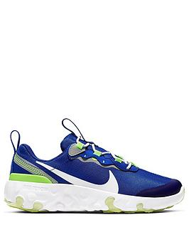 nike-renew-element-55-childrens-trainers-bluemulti