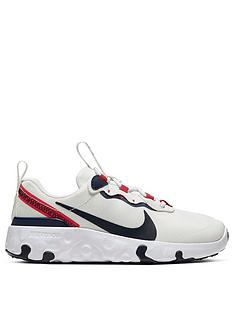 nike-renew-element-55-childrens-trainers-whitenavyred