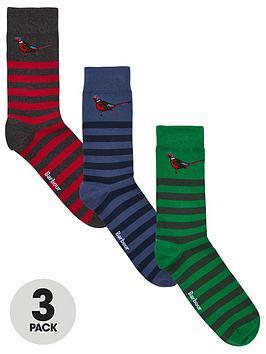 barbour-pheasant-3-pack-sock-gift-set-redbluegreen