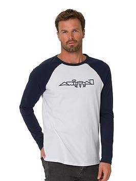 animal-action-long-sleeved-t-shirt-white