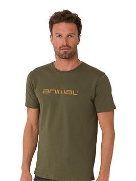 animal-classico-t-shirt-olive-green
