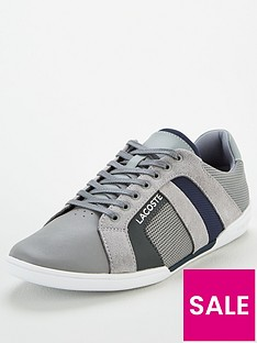 lacoste-chaymon-leather-trainers-grey