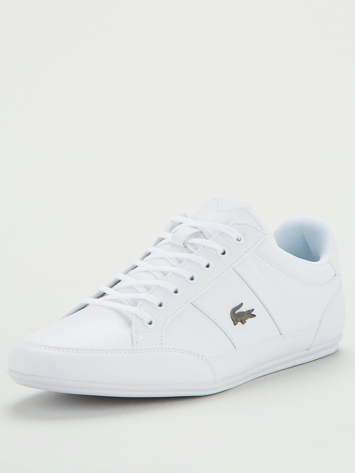 mens blue lacoste trainers