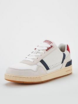 lacoste-t-clip-suede-leather-trainers-white