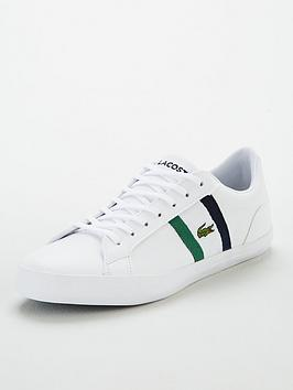 lacoste-lerond-side-stripe-leather-trainers-white