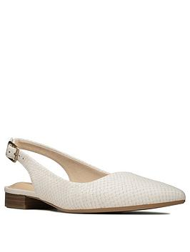 clarks-laina15-slingback-leather-flat-shoe-white